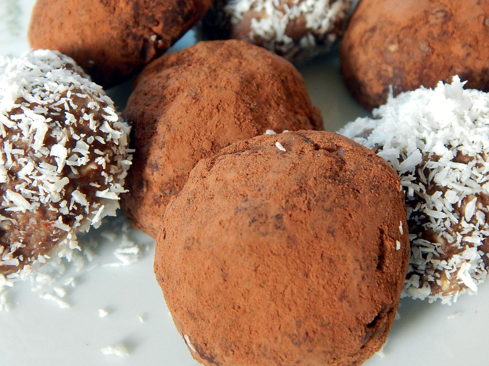 Kakao-Chia-Kugeln