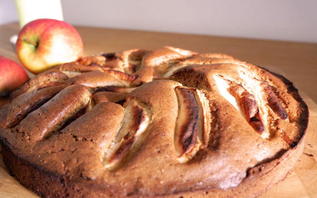 Apfelkuchen laktosefrei