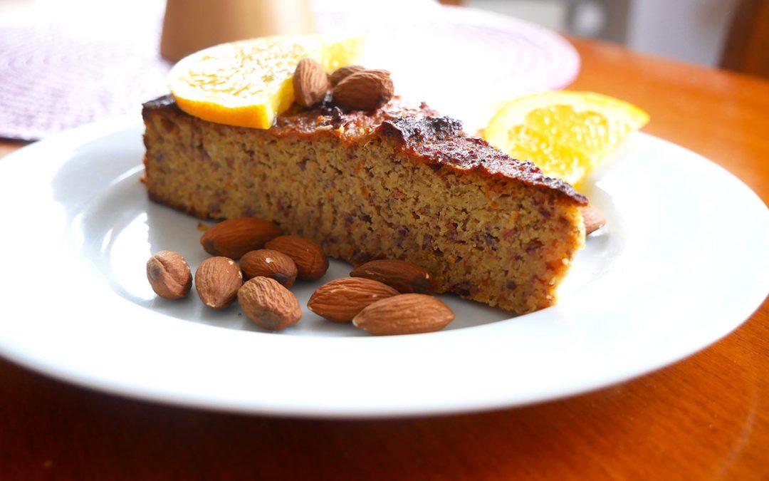 Orangen-Dattel-Kuchen